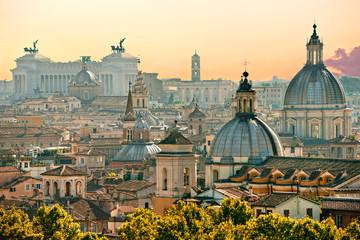 Panel Szklany Podświetlane Miasta Rome, Italy.