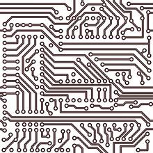 Vector Seamless Pattern - Elec...