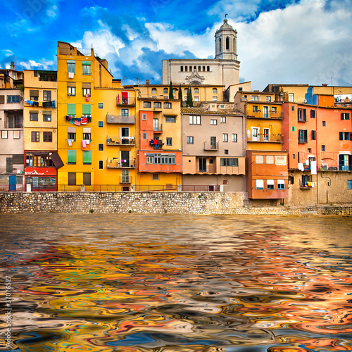 Girona - pictorial city of Spain