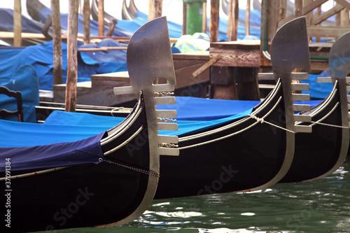 Spoed Foto op Canvas Gondolas Venice gondola ride