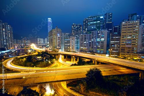 Foto op Aluminium Beijing urban area dusk