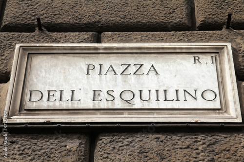 Photo  Rome - Piazza Esquilino