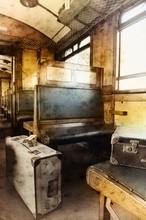 Last Century Rail Car Interior