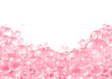 Pink Bubbles Frame