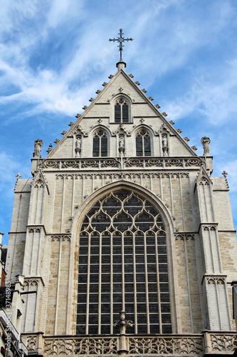 Keuken foto achterwand Antwerpen Liebfrauen-Kathedrale in Antwerpen