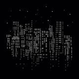 ville immeuble lumière fenêtre éclairage
