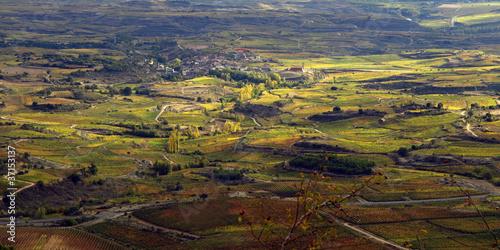 valle del ebro en otoño