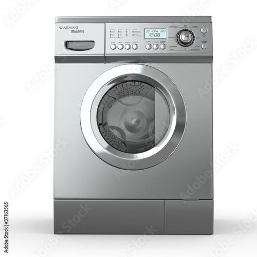 Fotografie, Obraz  Closed washing machine