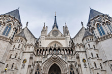 Royal Courts Of Justice At Lon...