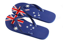 Australian Flag Thongs