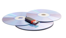 Three CDs And USB Flash Drive