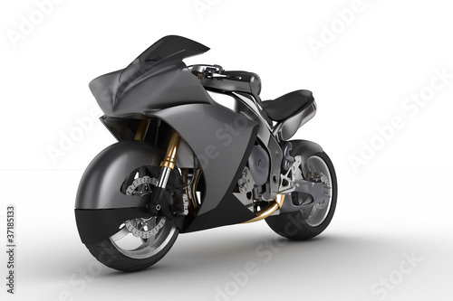 Poster Motocyclette Concept Motorbike
