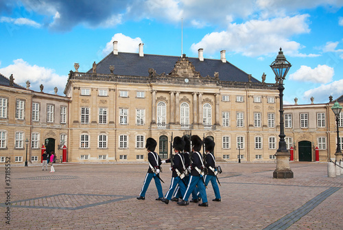 Photo  Amalienborg castle