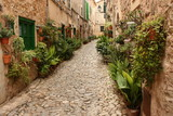 Fototapeta Fototapety na drzwi - old street in Valldemossa - Mallorca