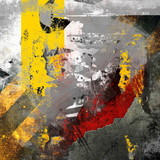Abstract grunge composition, color background - 37227989