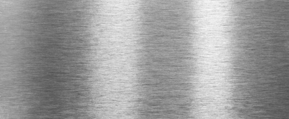 Shining brushed steel texture