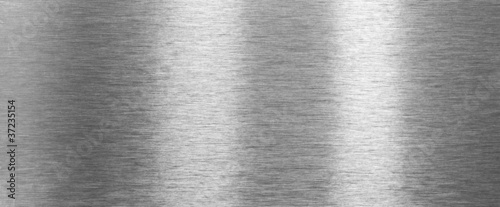Foto Shining brushed steel texture