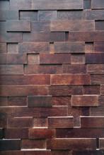 Geometric Wood Wall