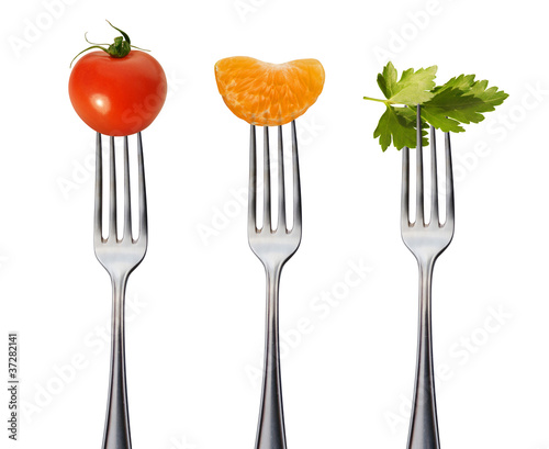 Canvas Prints Fresh vegetables gesunde vegane speisen