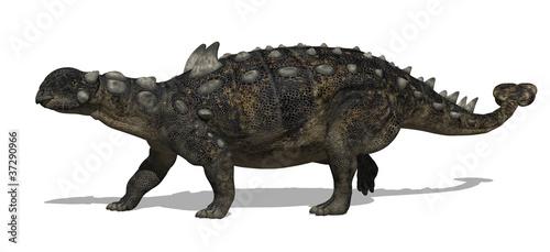 Euoplocephalus Dinosaur Canvas Print