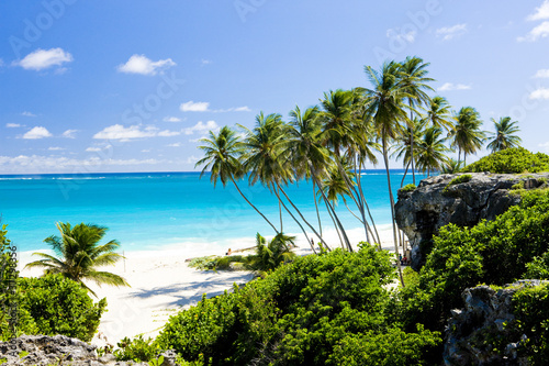 Foto-Leinwand - Bottom Bay, Barbados, Caribbean