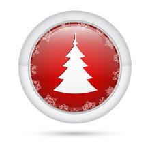 Bottone 3D_Albero Natale