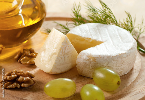 Poster Dairy products Brie cheese