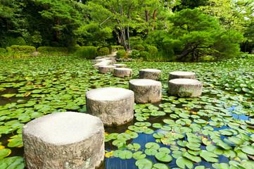 NaklejkaStone zen path