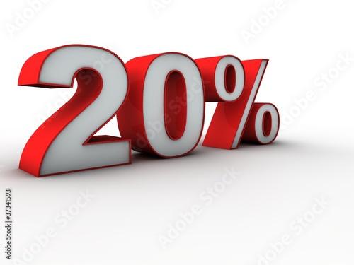 Fotografía  20 percent 3d