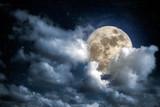 Fototapeta Fototapeta z niebem - Full moon