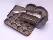 Old Kitchen Baking Trays