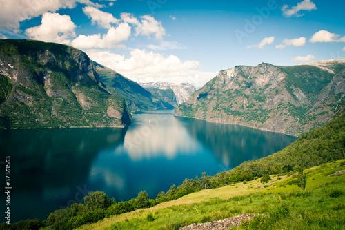 Papiers peints Scandinavie Sognefjord in Norway