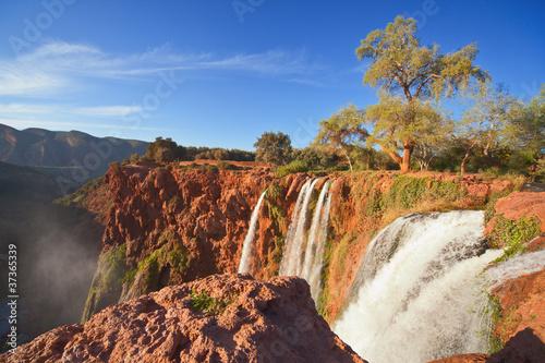 Papiers peints Maroc Ouzoud Falls, Morocco.