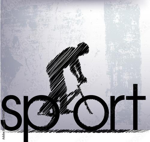 streszczenie-szkic-rowerzysty-ilustracji-wektorowych