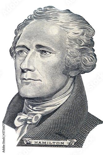 Alexander Hamilton portrait Canvas Print