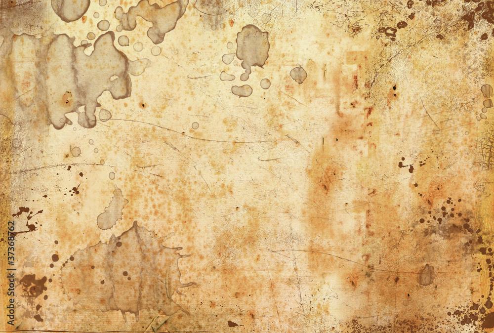 Fototapeta carta antica macchiata