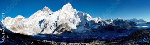 Wall Murals Nepal evening view of everest from kala patthar