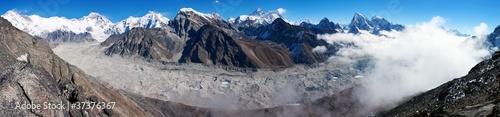 Wall Murals Nepal view of everest from gokyo ri