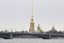 View Of The Peter And Paul Fortress, St.Petersburg.