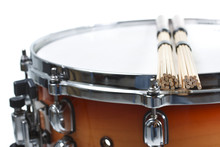 Unplugged Drumsticks Resting O...