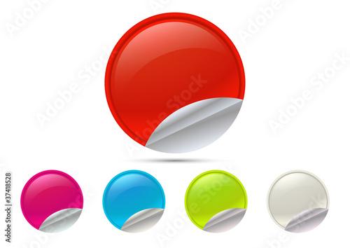 Photo Label Colorati