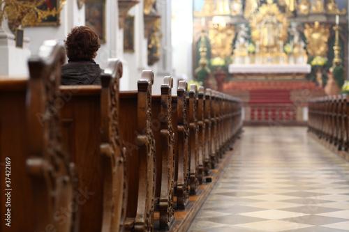 Obraz church - fototapety do salonu