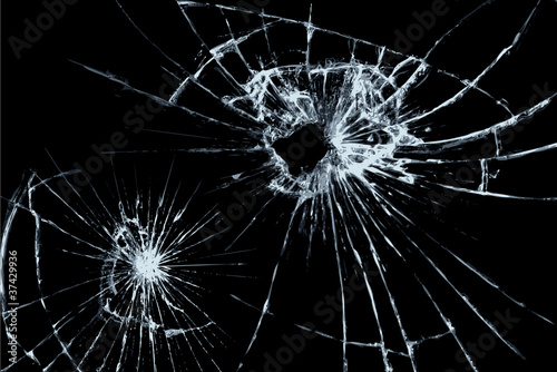 Fotografie, Obraz 割れたガラス