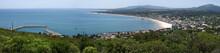Panoramic View Of Seaside Resort In Uruguay