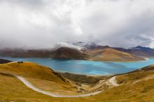 Yamdrok Yumsto Lake In Tibet