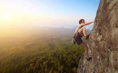 Fototapeta Climbing