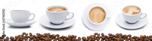 Photo sur Toile Cafe Kaffeetassen