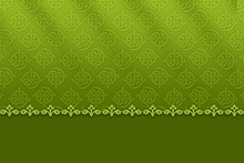 Patterned Green Background