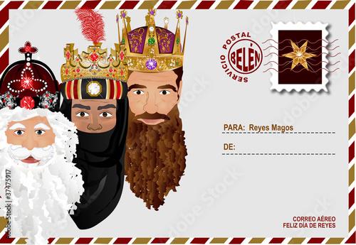 Valokuva  Carta a Reyes Magos