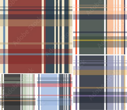 Photo  fabric textile plaid check background